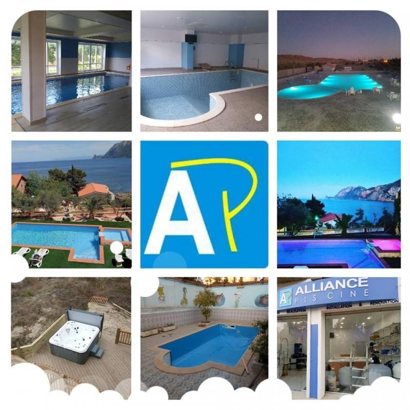 projet realiser par alliance piscine