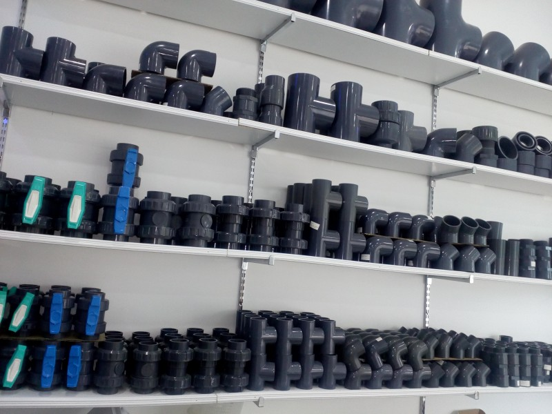 Pièces de PVC